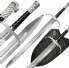 Game of Thrones Longclaw with Plaque & Sheath